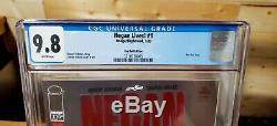 Negan Lives! #1 Ruby Red Foil Variant CGC 9.8 NM/MT Rare Walking Dead Only 500