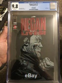 Negan Lives Rare Red Foil Cover Cgc 9.8 The Walking Dead