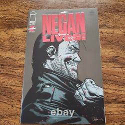 Negan Lives Red Foil Variant