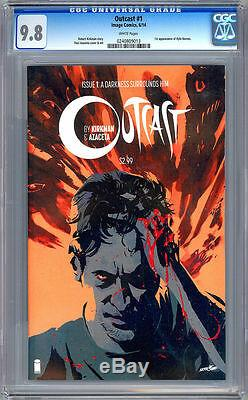 Outcast #1 Cgc 9.8 Case Of 20 Robert Kirkman Image Comics Walking Dead