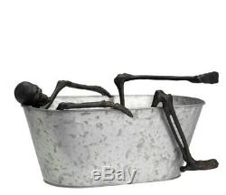 Pottery Barn Walking Dead Skeleton Bath Bucket Halloween-Brand New-Never Opened