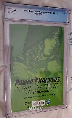 Power Rangers Unlimited Heir To Darkness #1 Cgc 9.8 Frison Variant