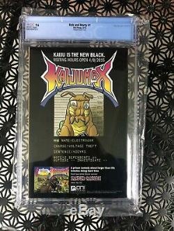REDUCED Rick and Morty 1 CGC 9.6 150 Roiland Variant VERY RARE NM+
