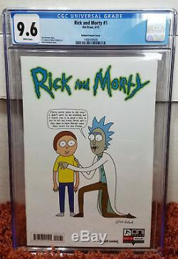 Rick and Morty #1 (2015, Oni Press) CGC 9.6 NM+ 150 Justin Roiland Variant
