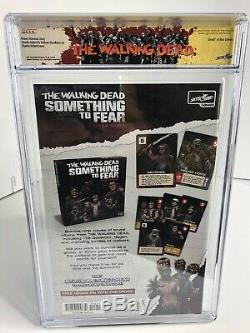 SDCC 2019 The Walking Dead #192 CGC 9.8 Signed Robert Kirkman & Adlard 66/192