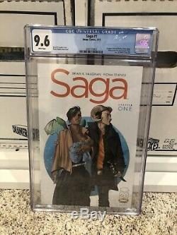 Saga 1 CGC 9.6 Image Comics Walking Dead Chew God Country Sex Criminals