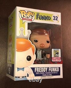 Sdcc 2015 Funko Fundays The Walking Dead Bloody Daryl Dixon Freddy Pop 1/500