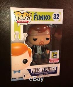 Sdcc 2015 Funko Fundays The Walking Dead Daryl Dixon Freddy Funko Pop 1/500 Rare