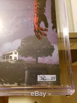 Sdcc 2019 Walking Dead #193 Variant Cover Cgc 9.8 White Signed Robert Kirkman