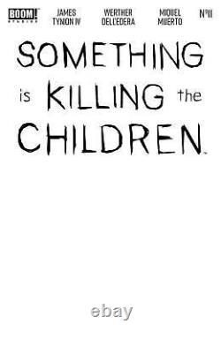 Something Is Killing The Children #11 A & B 125 150 1100 BOOM tynion DC 6x