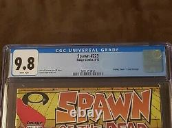 Spawn #223 CGC 9.8 McFarlane Variant Walking Dead #1 Homage Sold Out