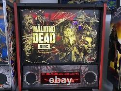 Stern Walking Dead Pro Pinball Machine From A Stern Dealer