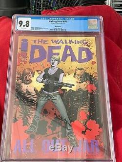 THE RAREST WALKING DEAD COMIC IN THE WORLD #116 RARE 3rd PRINT CGC 9.8 NEW SLAB
