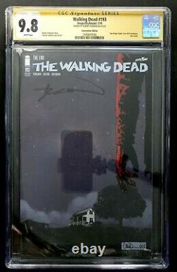 THE WALKING DEAD #193 CGC 9.8 SS SDCC Variant Last Issue Signed Robert Kirkman