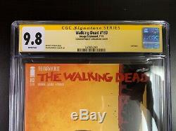 THE WALKING DEAD 193 FINAL ISSUE 1st PRINT SIGNED BY ROBERT KIRKMAN CGC 9.8