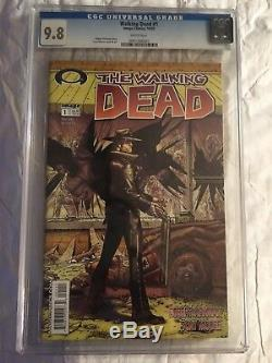 THE WALKING DEAD #1 CGC 9.8! (Oct 2003, Image)AWESOME & RARE! LK-A MUST HAVE
