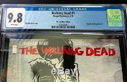 THE WALKING DEAD #1 LAST WINE EDITION Variant CGC 9.8 Graded ULTRA RARE Burnham