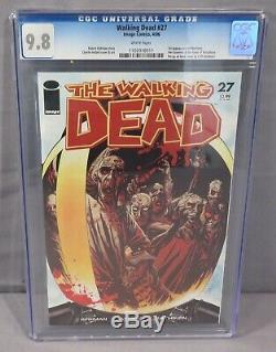 THE WALKING DEAD #27 (Governor 1st appearance) CGC 9.8 NM/MT Image Comics 2006