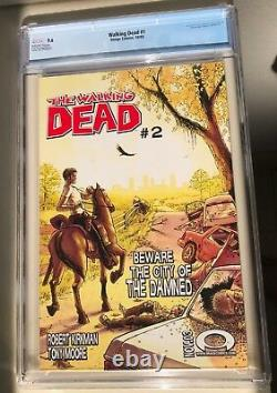 The Walkind Dead 1st Issue Grade 9.6