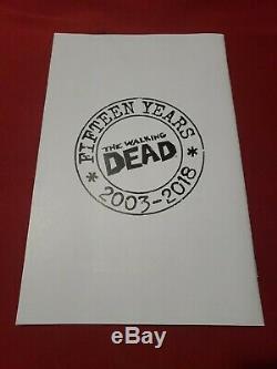 The Walking Dead #100 1100 15th Anniversary Text Variant (SUPER RARE!)