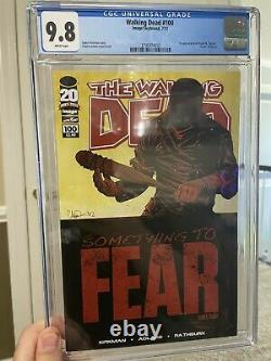 The Walking Dead #100 1st Negan/Lucille, Death Of Glenn CGC 9.8 Negan Cover