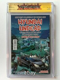 The Walking Dead #100 2nd Print CGC SS 9.8 AMC Kirkman Adlard SKETCH Negan