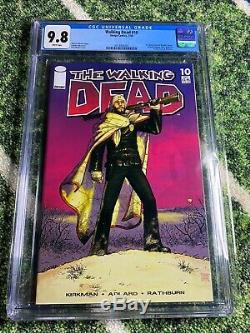 The Walking Dead #10 CGC 9.8! First Appearance Hershel, Maggie, Billy