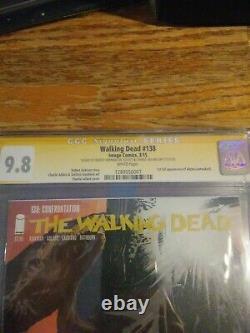 The Walking Dead 138 157 158 159 160 161 162 CGC 9.8