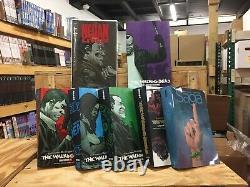 The Walking Dead 15 Years Set No Box Damaged + Negan Lives Saga Compendium
