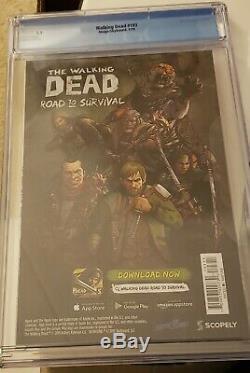 The Walking Dead #193 CGC 9.9 Higher than CGC 9.8 Kirkman Adlard Skybound Image