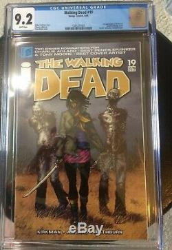 The Walking Dead #19 CGC 9.2 White pages 1st Michonne Problem free slab HOT