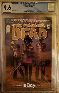 The Walking Dead # 19 CGC 9.6 White Pages Image comics 2005 1st Michonne