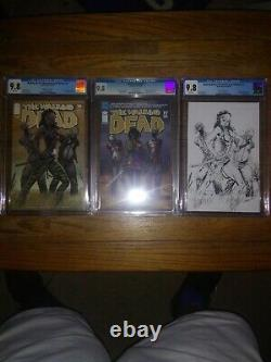 The Walking Dead #19 CGC 9.8 Lot First Appearance of Michonne