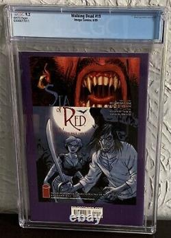 The Walking Dead #19 Cgc 9.2 2005 1st Appearance Of Michonne Image Comics