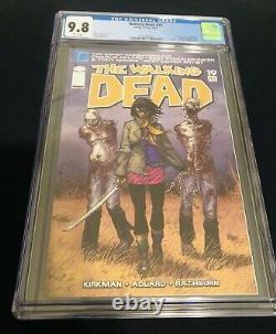 The Walking Dead #19 Cgc 9.8 1st App Michonne White Pages Image Comics