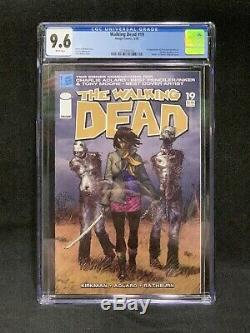 The Walking Dead 19/ appearance of Michonne/ CGC 9.6/ Negan/ Grimes/ Image Comic