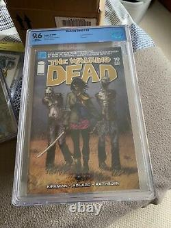 The Walking Dead #19 comic CBCS 9.6