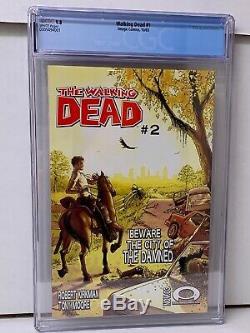 The Walking Dead #1 (10/03, Image Comics). CGC 9.8 1st Print RICK GRIMES