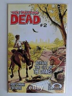 The Walking Dead 1 1st Print NM 9.4 Unread Key