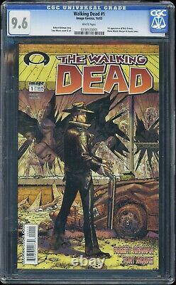 The Walking Dead #1 2003 IMAGE Comics CGC 9.6 FIRST APPEARANCE RICK