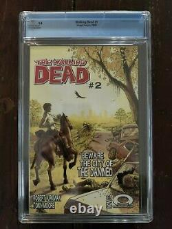 The Walking Dead #1 (2003, Image) CGC 9.8 1st Appearance of Rick, Shane, Morgan