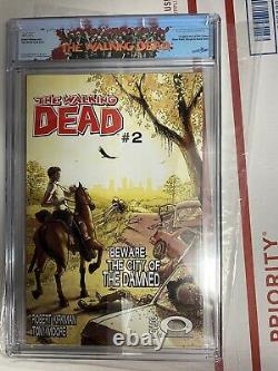 The Walking Dead #1 (2003, Image) CGC 9.8 Rick label! Rare the grail of twd