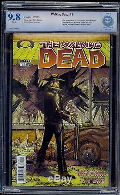 The Walking Dead #1 CBCS 9.8 FLAWLESS