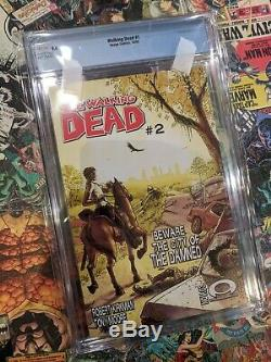 The Walking Dead #1 CGC 9.4 First Print White Pages Image Skybound Rick Grimes