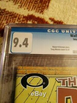 The Walking Dead #1 CGC 9.4 White Pages 2003