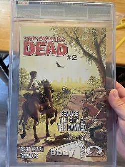 The Walking Dead #1 CGC 9.6