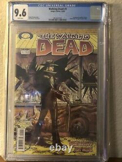 The Walking Dead #1 CGC 9.6 (2003) Black Mature Readers Label RARE 1st Print