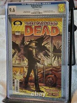 The Walking Dead #1 CGC 9.6 Black mature readers