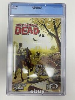 The Walking Dead #1 CGC 9.6 First Print! 1st App. Of Rick Grimes & Morgan