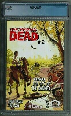 The Walking Dead #1 CGC 9.8 Black Label RARE 1st Print 2003